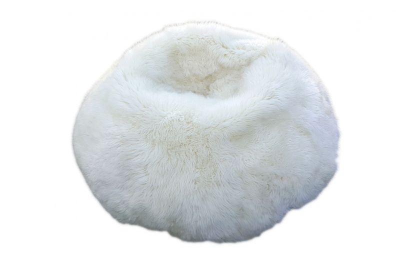 Sheepskin Pouf - XXL
