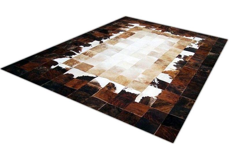 Coliseum cowhide rug